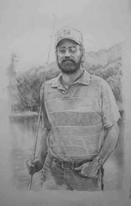 портрет карандашом по фотографии