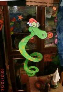 змея новогодняя своими руками