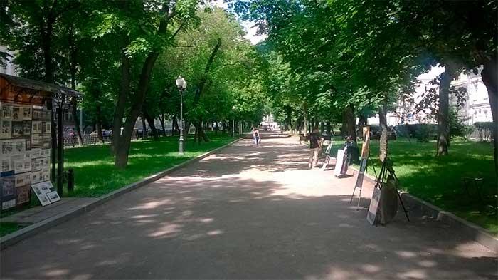 где в Москве рисуют портреты