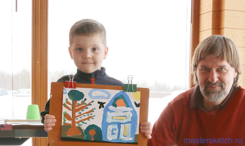 мастеркласс художника для детей