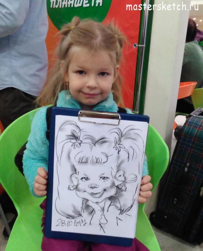 художник, шаржист на детский праздник