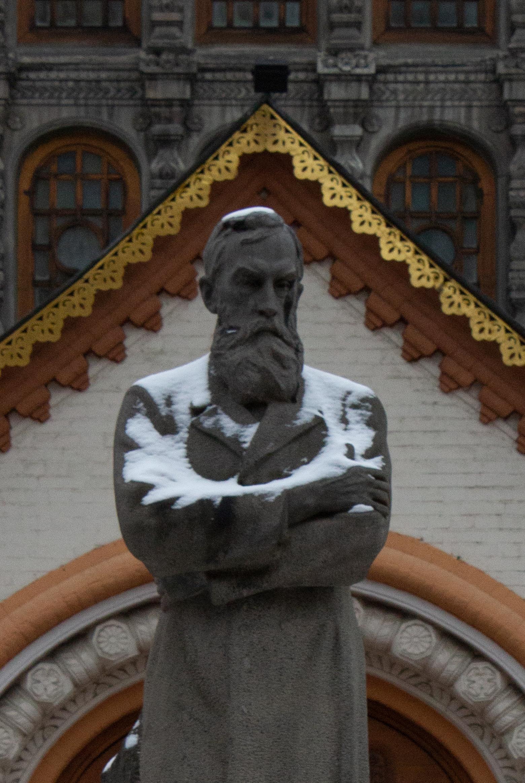 Памятник Третьякову П.А. фрагмент